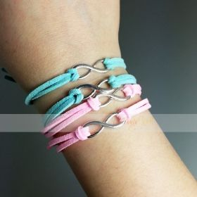 braccialetto con simbolo infinito - onedirection - idea regalo amici